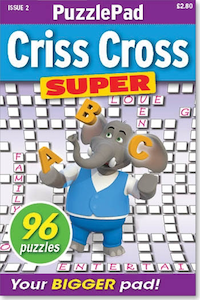 PuzzleLife PuzzlePad Criss Cross Super
