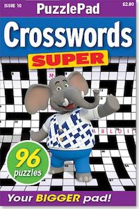 PuzzleLife PuzzlePad Crosswords Super