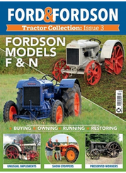 ford & fordson tractor collection