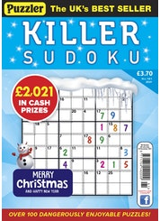 puzzler killer sudoku
