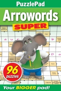 PuzzleLife PuzzlePad Arrowords Super
