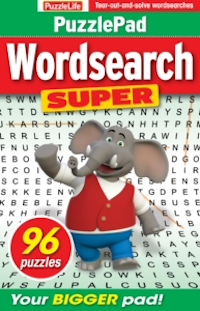 PuzzleLife PuzzlePad Wordsearch Super