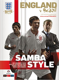 The Official England Programme