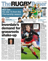 The Rugby Paper - The English Regional Edition