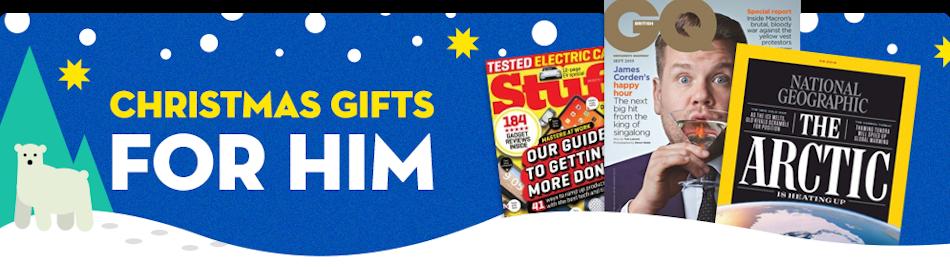 SPOTLIGHT - Gifts for Him - XMAS2019