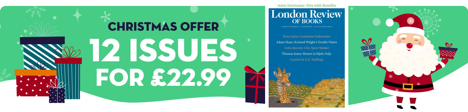 London Review of Books - XMAS2021