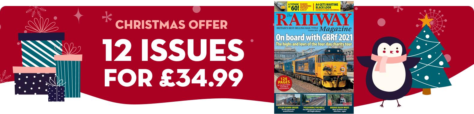 The Railway Magazine - XMAS2021