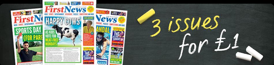 First News magazine offer