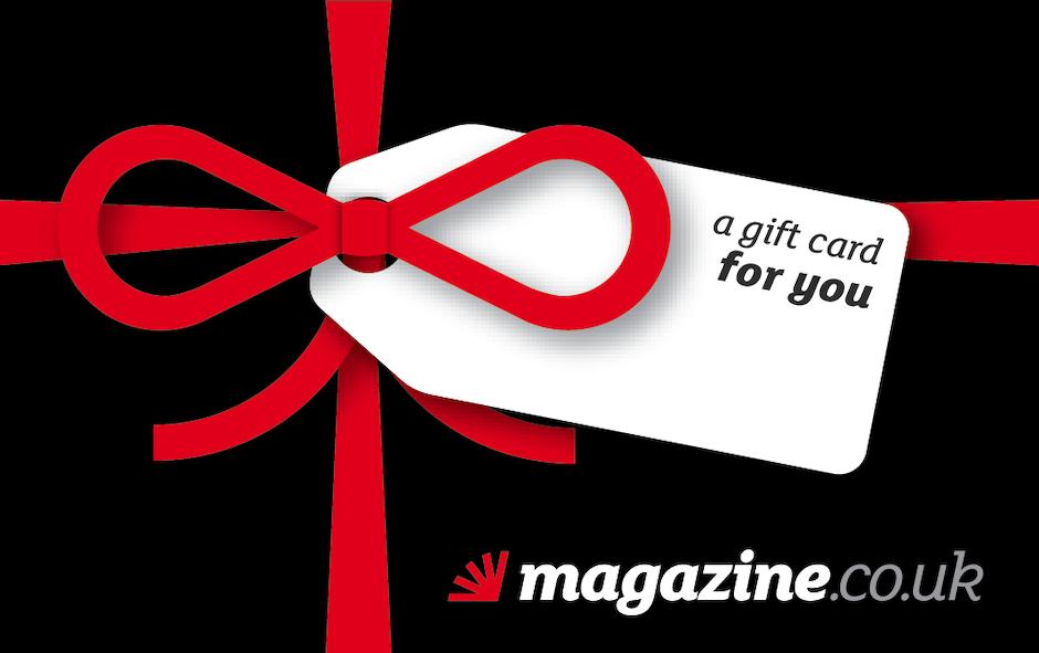 magazine.co.uk gift card design