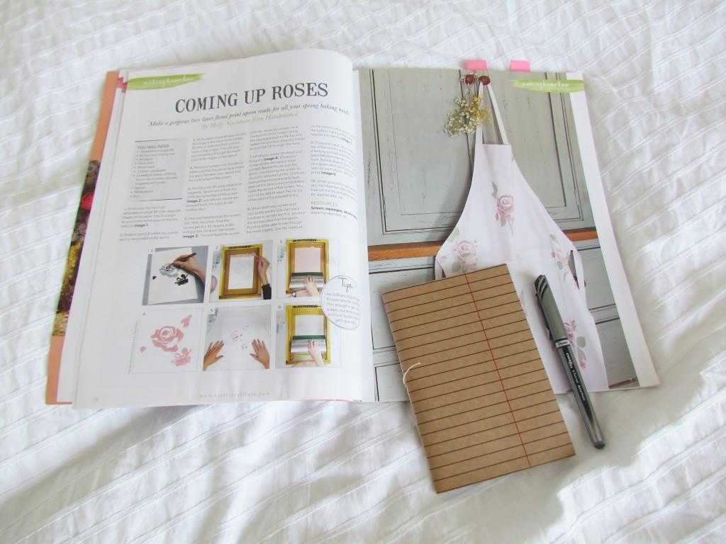 magazine.co.uk Making Magazine Spring Crafts roses apron