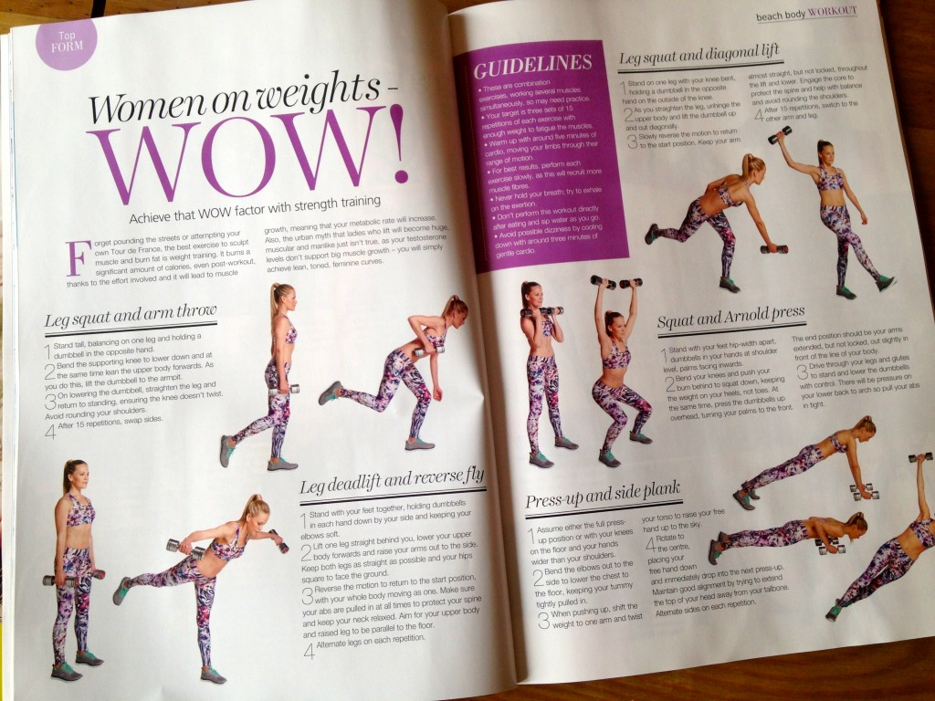 your fitness magazine tips for parents