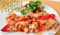 Olive magazine stuffed peppers