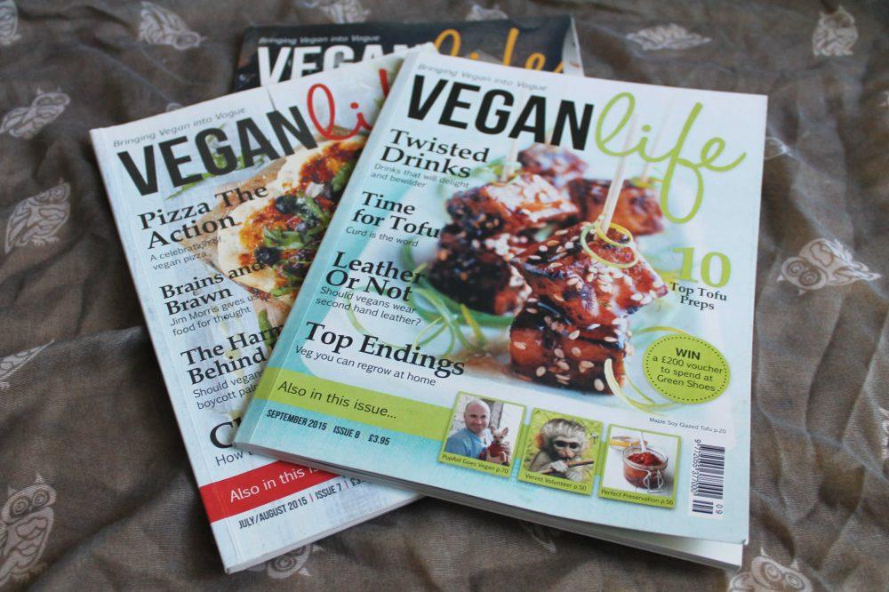 inspiration from vegan life magazine