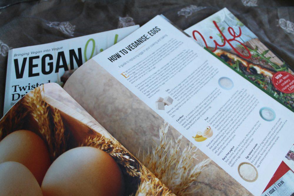 vegan life magazine inside