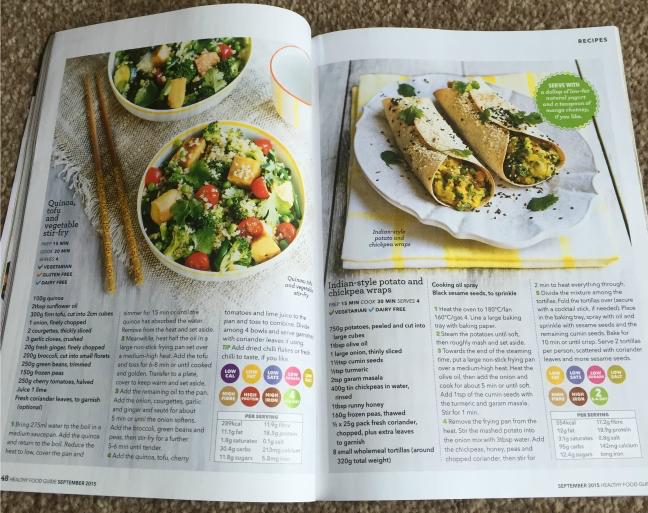 Healthy Food Guide quinoa recipe