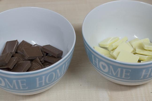 milk and white chocolate shortbread recipe