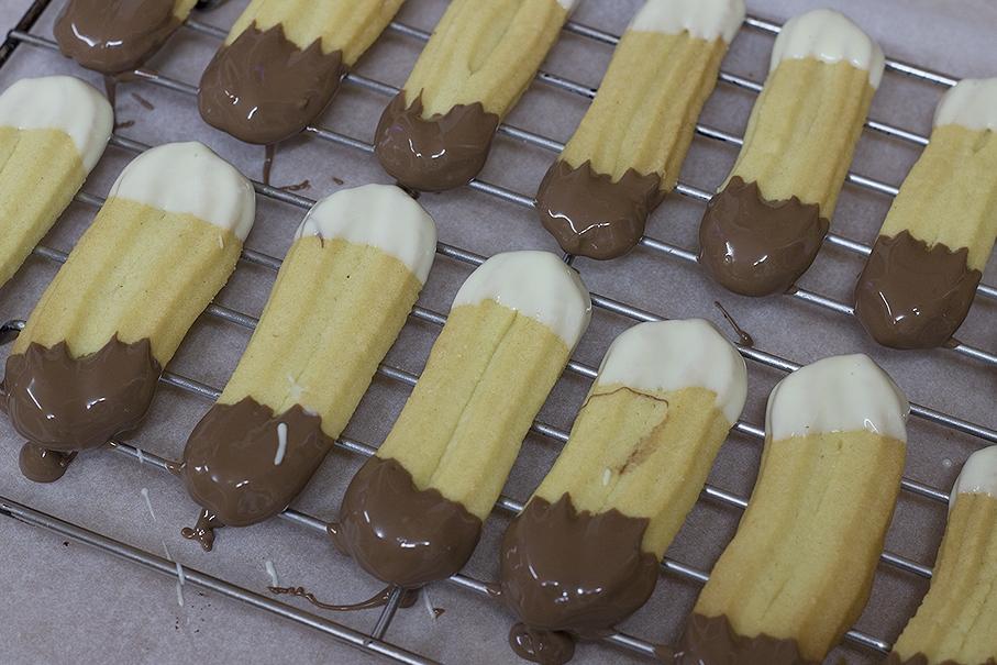 double chocolate shortbread recipe