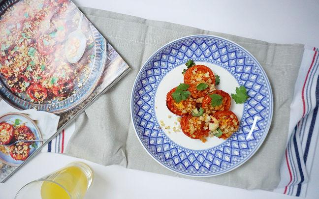 Harissa Roast Tomatoes