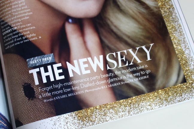 Red Magazine - The New Sexy