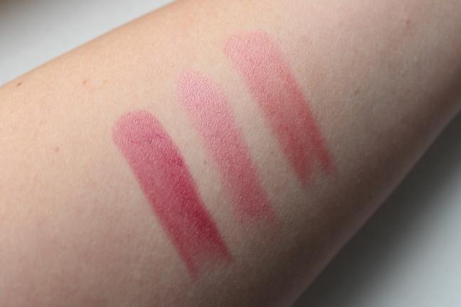 Red Magazine - Pink Lipstick Swatches