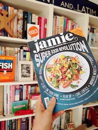 Jamie Oliver magazine cook books