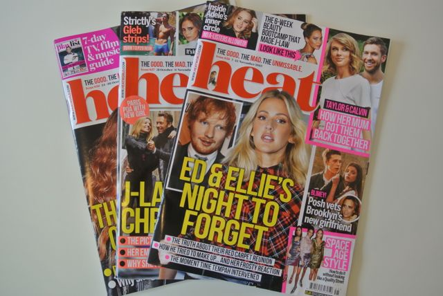Heat magazine covers magazine.co.uk