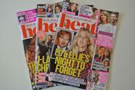 Heat magazine covers magazine.co.uk