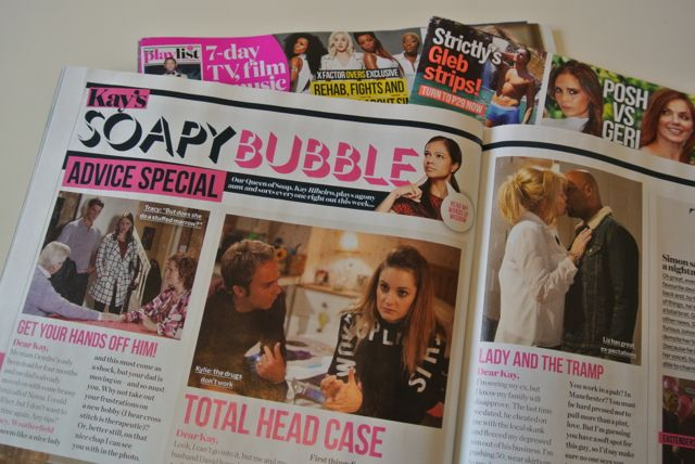 Heat magazine Soapy Bubble