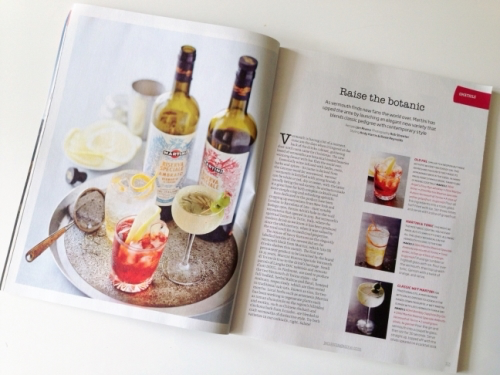 Jamie Oliver magazine cocktail inspiration