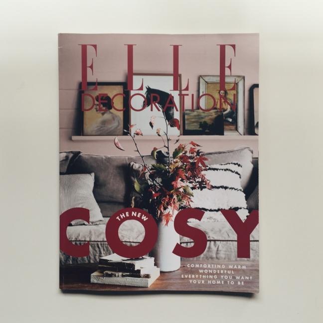 cosy elle decoration magazine