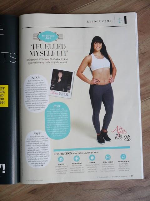 womens health magazine boot camp fitspiration