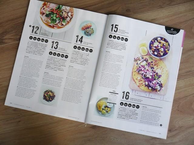 womens health magazine recipe and food ideas