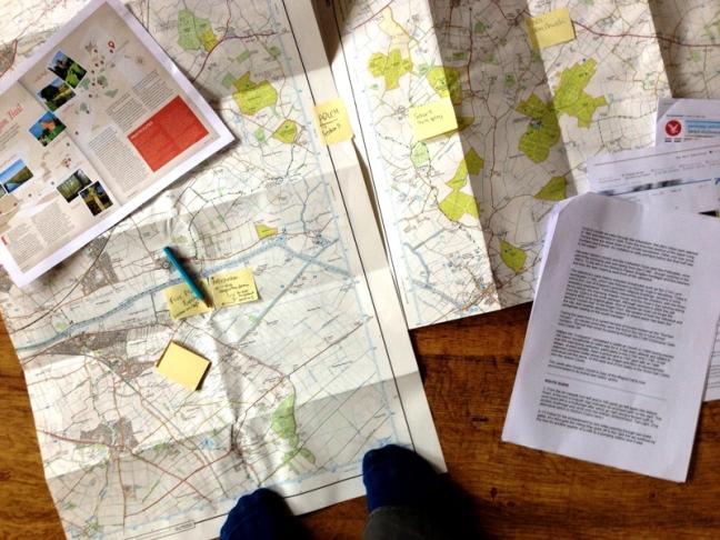 trail hiking maps