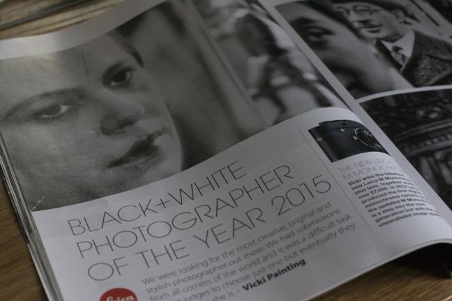 photography magazine  black and white