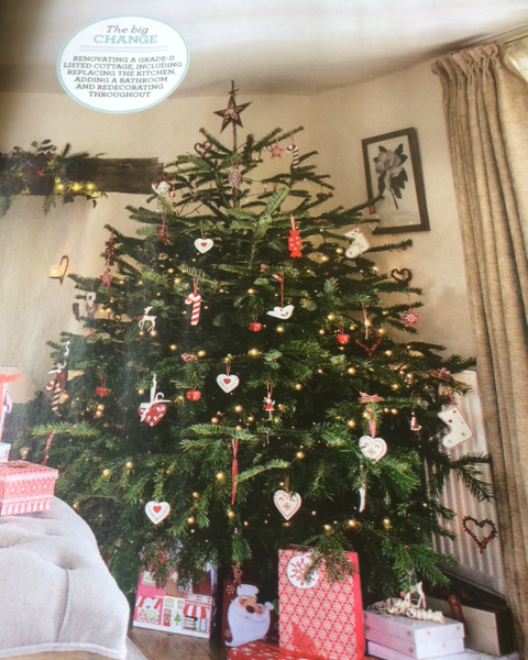 Ideal Home maagzine Christmas tree