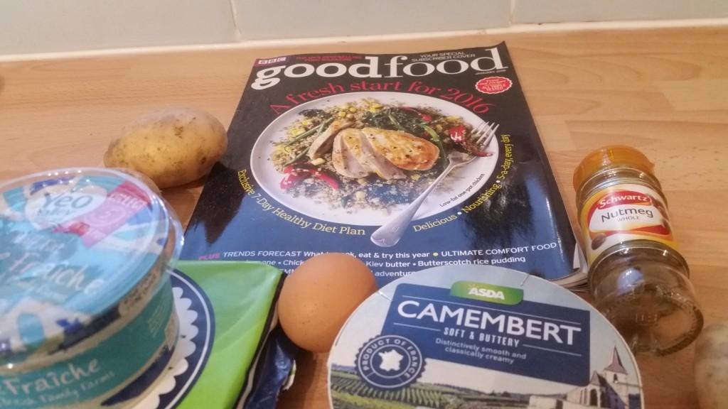 good food magazine in use