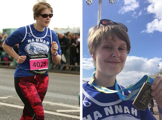 Running the Brighton Marathon