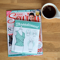 An issue of Love Sewing magazine