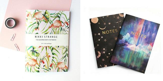 Items designed by Nikki Strange
