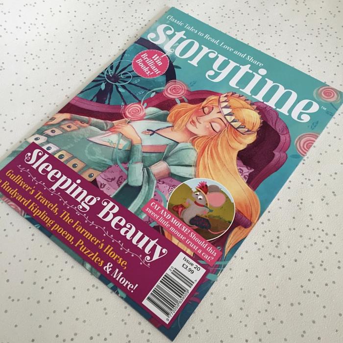 Issue 20 of Storytime magazine