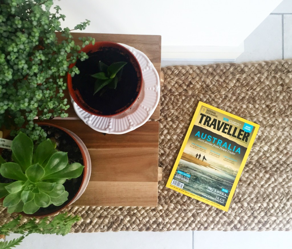 Front cover of National Geographic Traveller