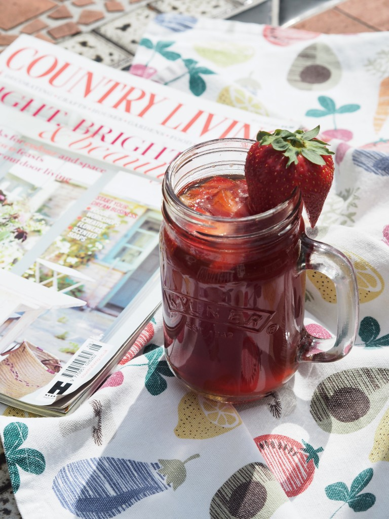 flavoured iced tea country living august 2016