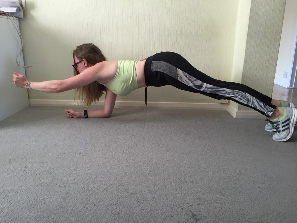 reach plank