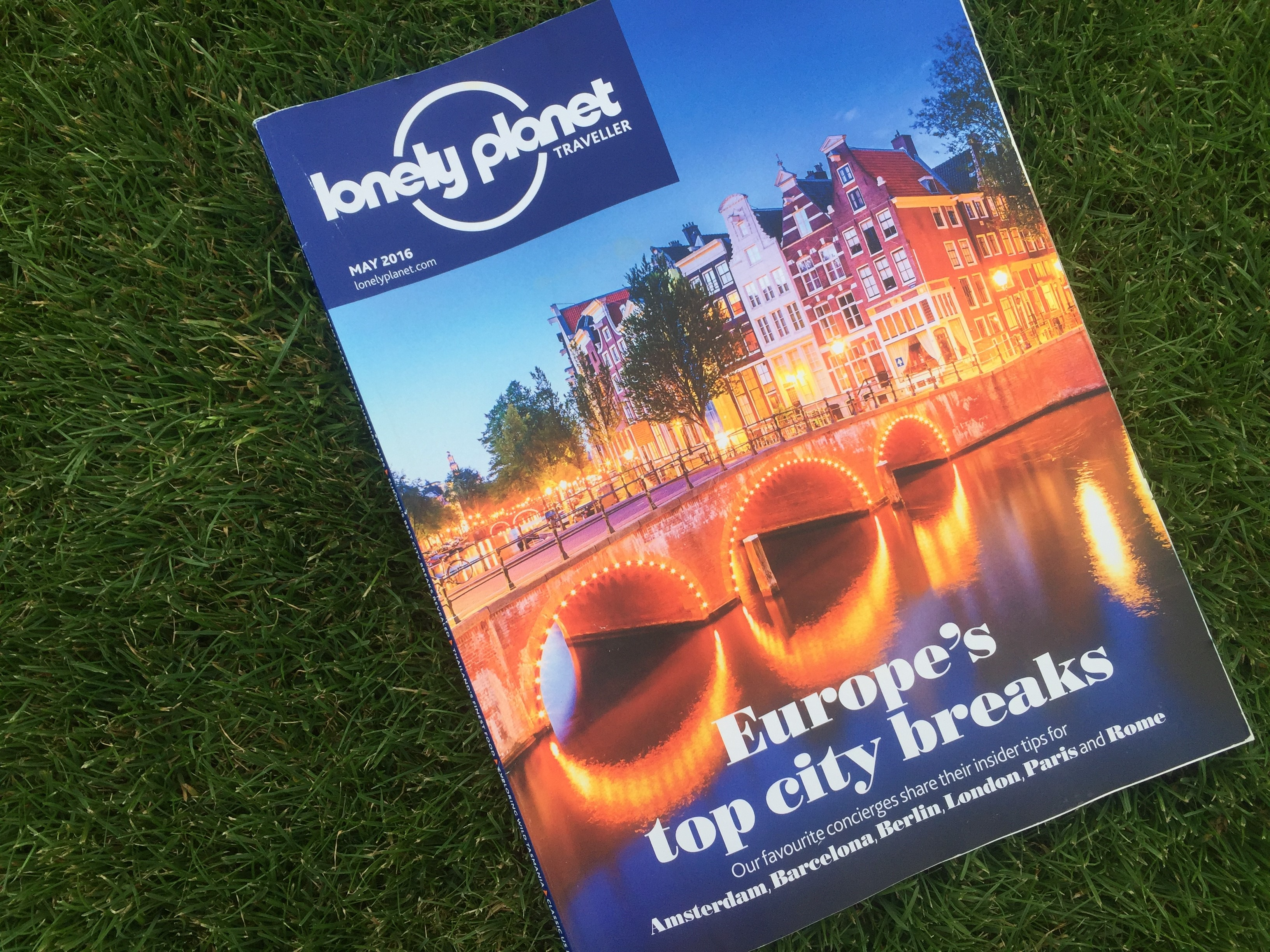 Lonely Planet guide to Berlin