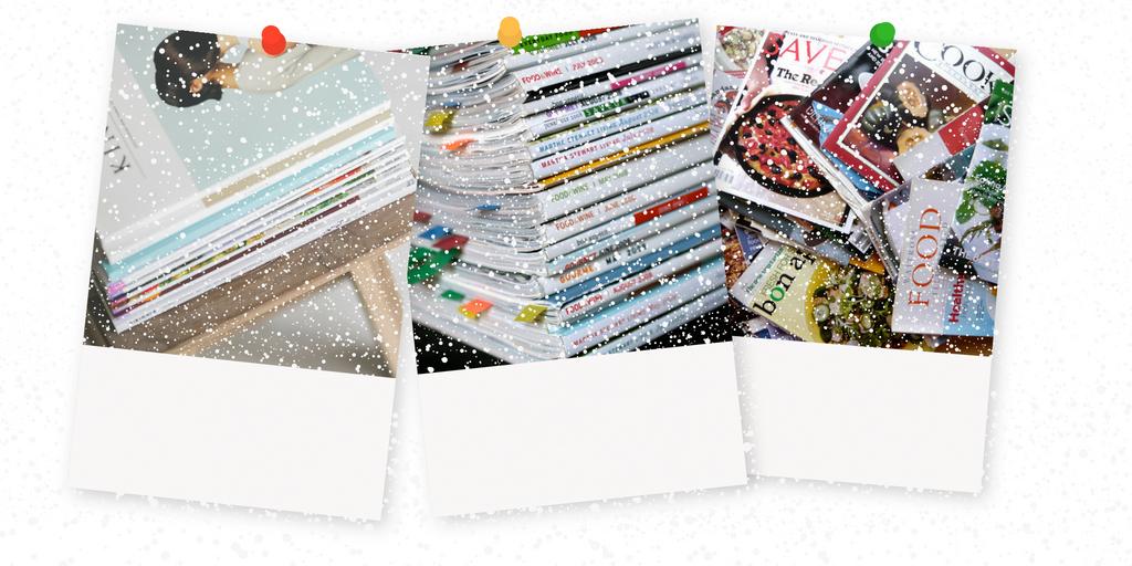 Christmas Crafts out of Magazines | magazine.co.uk