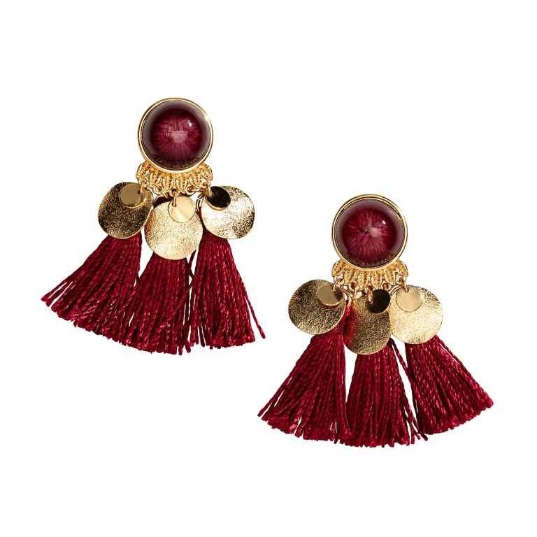 H&M Earrings Red Magazine