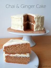 Chai & Ginger Cake