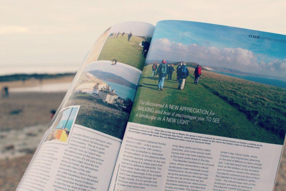 Coast magazine winter walking