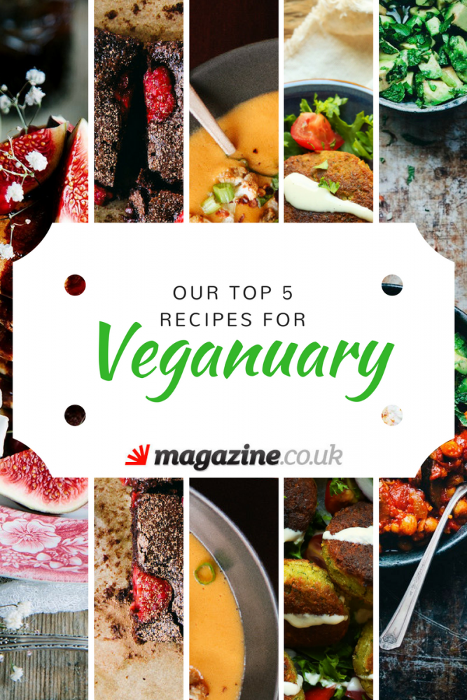 Our Top 5 Recipes for #veganuary! - magazine.co.uk