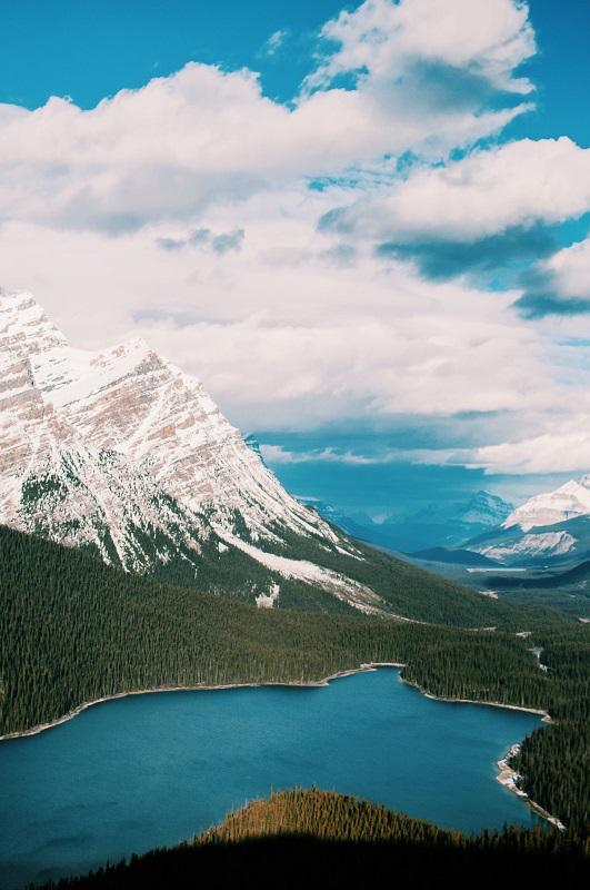 Ezra Jeffrey Peyto Lake, Canada - Unsplash